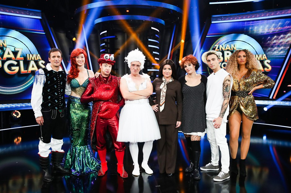Ana Dežman in David Amaro bosta postala Cher (foto: Miro Majcen / POP TV)