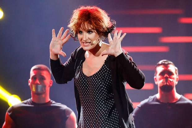 Ana Dežman je postala članica skupine Tabu. (foto: Miro Majcen / POP TV)