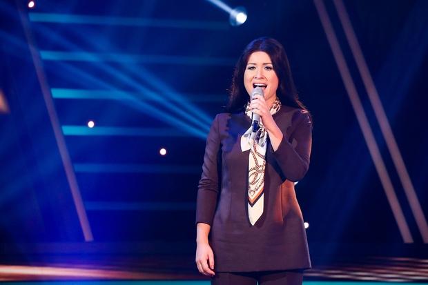 Maja Oderlap je navdušila kot legendarna Tatjana Gros. (foto: Miro Majcen / POP TV)