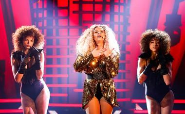 Petra Zore je stopila v velike čevlje zvezdnice Beyonce.