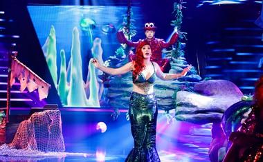 Eva Boto je postala mala morska deklica Ariela.