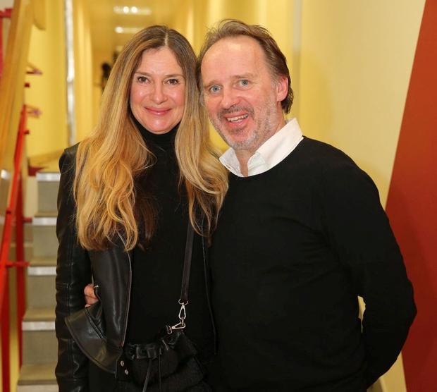Vanja Vardjan, šef razvedrila na TV Slovenija, praznuje srebrno poroko (foto: Helena Kermelj)