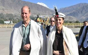 Kate Middleton se je v Pakistanu še enkrat več ganljivo poklonila princesi Diani