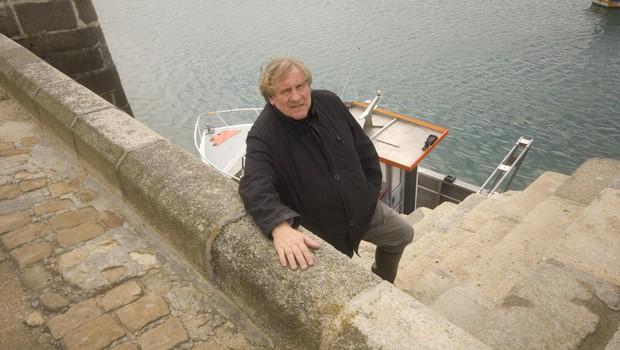 Gerard navdušuje v kuharski oddaji Bon Apetit, kjer veliko tudi potuje. (foto: Foto: Apd Bretagne Gd Port © Nicolas)
