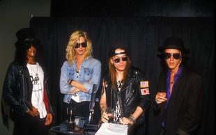 Uspešnica skupine Guns N' Roses Sweet Child O' Mine je na YouTube presegla milijardo ogledov