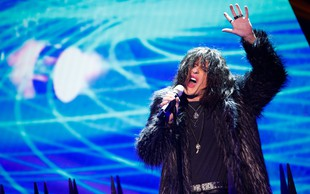 Muzikant Matic Supovec kot rocker Steven Tyler sezul občinstvo