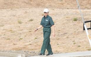 Zvezdnica Razočaranih gospodinj Felicity Huffman odšteva dneve do odhoda na prostost