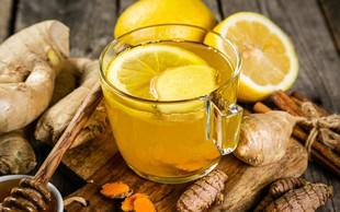 Prihaja sezona čajev: Pripravite ga iz ingverja in kurkume ter hkrati poskrbite za svoje zdravje