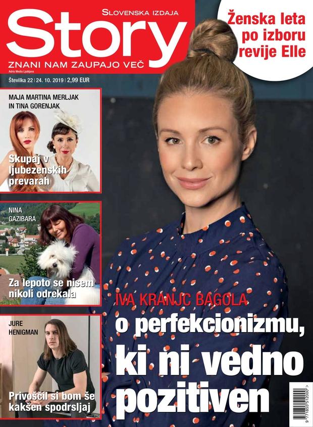 Iva Krajnc Bagola za revijo Story: V resnici sem precej sramežljiva (foto: Story)