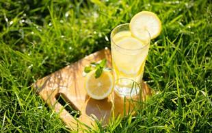 Kozarec vode z limono na dan odžene nevšečnosti stran!