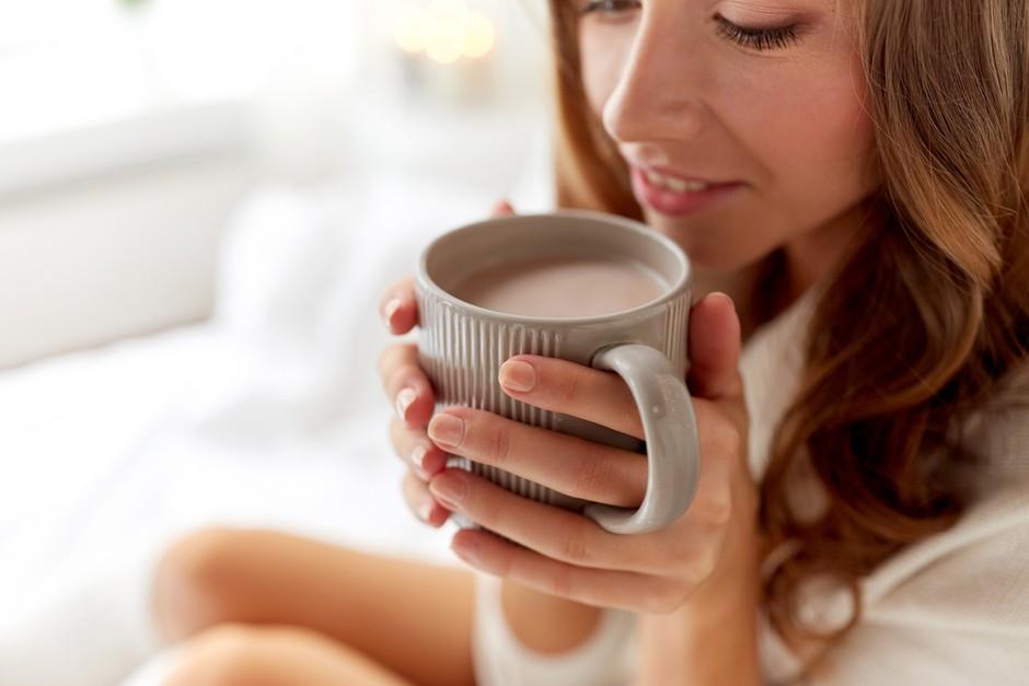 Manner kakav v toplem ali hladnem mleku - dobro jutro, sonček! (foto: FOTO: Shutterstock)