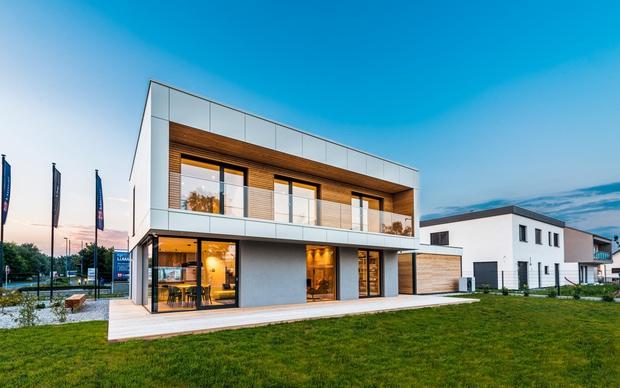 Aktivna hiša Lumar Primus-R 150 iEDITION v Dragomlju. (foto: Foto: Lumar)