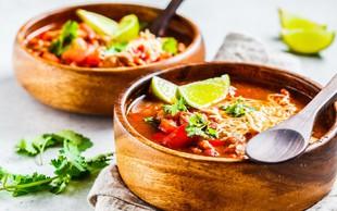 Chili con carne (čili z mesom): Vsak ima svoj recept za to odlično jed - tudi mi!