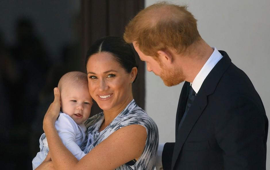Meghan Markle in princ Harry razkrila ljubek nadimek za svojega malega princa (foto: Profimedia)