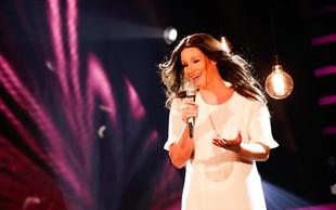 Ob nastopu Ane Dežman publika in žirija v solzah, mama Elda obnemela
