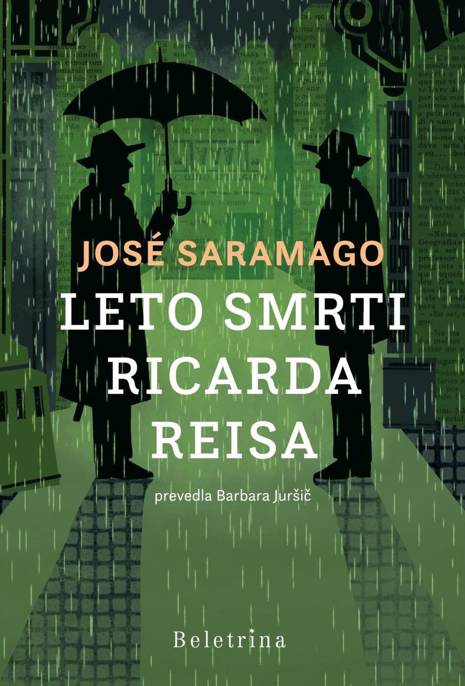 Knjižna novost: Roman portugalskega velikana Joseja Saramaga Leto smrti Ricarda Reisa zdaj tudi v slovenskem prevodu (foto: Promocijsko gradivo)