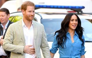 Princ Harry in Meghan Markle se bosta za nekaj časa umaknila iz javnosti