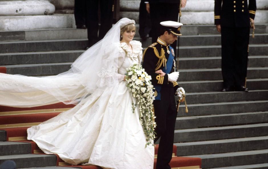 11 dejstev o poročni obleki princese Diane (foto: Profimedia)