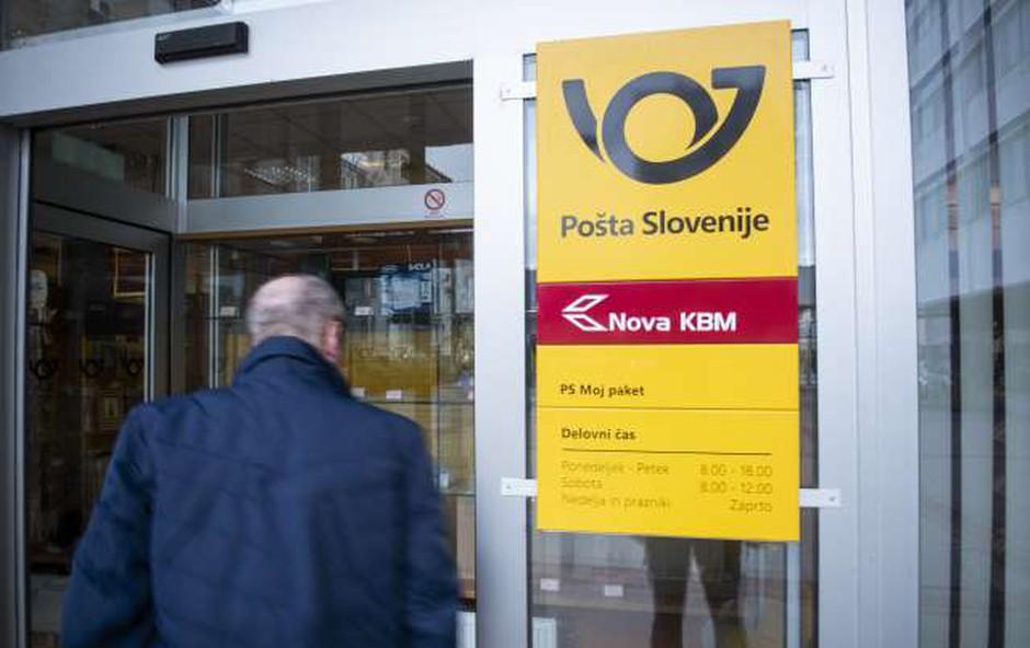 Zaposleni na Pošti so prekinili stavko (foto: Bor Slana/STA)