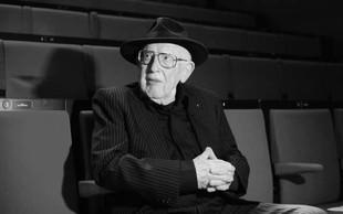 Zagreb: Poslovil se je z oskarjema nagrajeni filmski umetnik Branko Lustig
