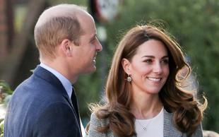 Kamera ju je ujela: Princ William in Kate Middleton sta si izkazala ljubezen