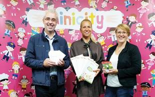 Minicity Ljubljana osrečil kar 650 otrok v stiski