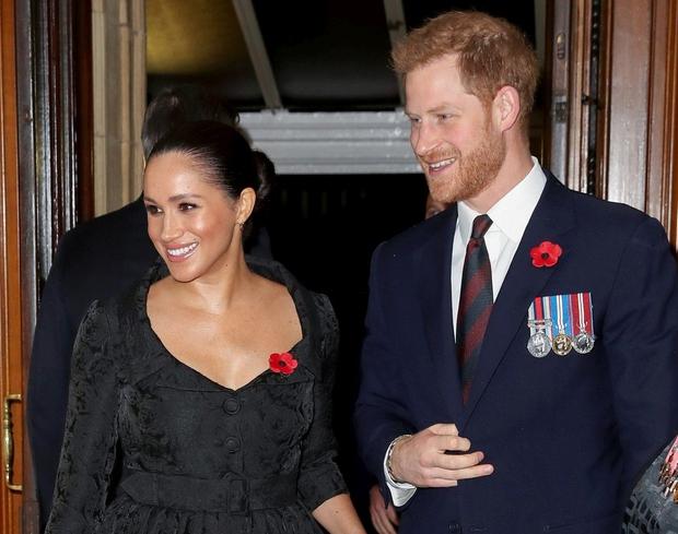 Harry in Meghan za božič z materjo vojvodinje susseške Dorio Ragland (foto: Profimedia)