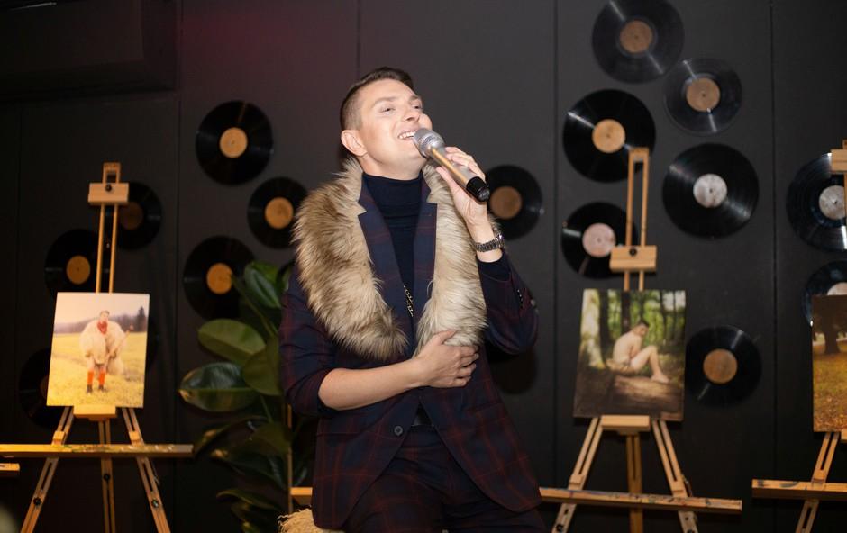 Damjan Murko priznal, da na njegovih koncertih ni nikoli 100 ljudi (foto: Klavdija Vnuk)