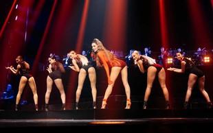 Severina Kojić je na koncertu v Beogradu pokazala nikoli bolj izklesano zadnjico