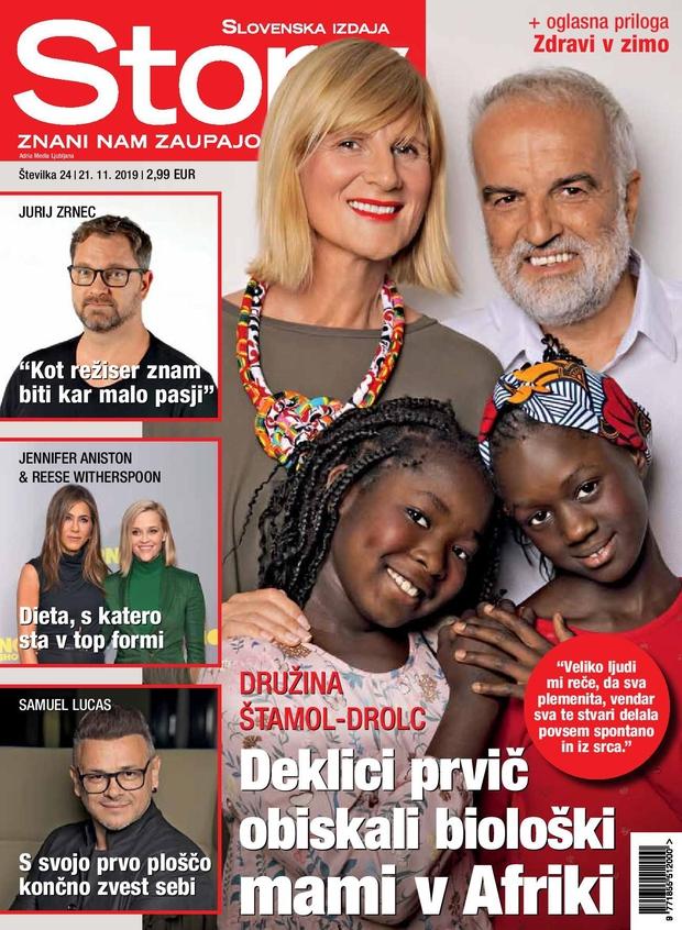 Maja Štamol Drolc za Story: Ko pridem v Afriko, sem vedno zelo čustvena, tam vedno jočem (foto: Story)