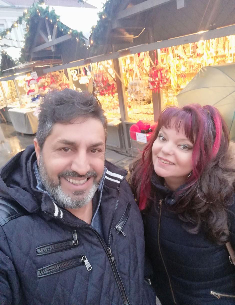 Naša zmagovalca HITfesta v sosednji Avstriji že okusila pridih praznikov (foto: Osebni album)