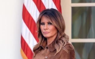 Melania Trump je v tej drzni kombinaciji opazovalce pustila odprtih ust, samo poglejte si jo!
