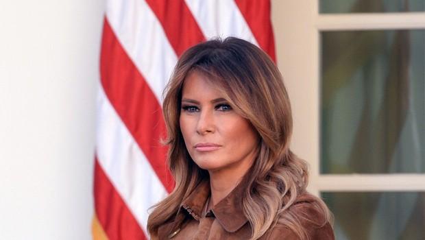 Melania Trump je v tej drzni kombinaciji opazovalce pustila odprtih ust, samo poglejte si jo! (foto: Christy Bowe/ZUMA Wire/Profimedia)