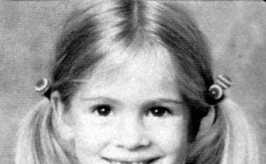 Deklica Julia Roberts, ko se nikomur še sanjalo ni, da bo nekoč velika zvezda.