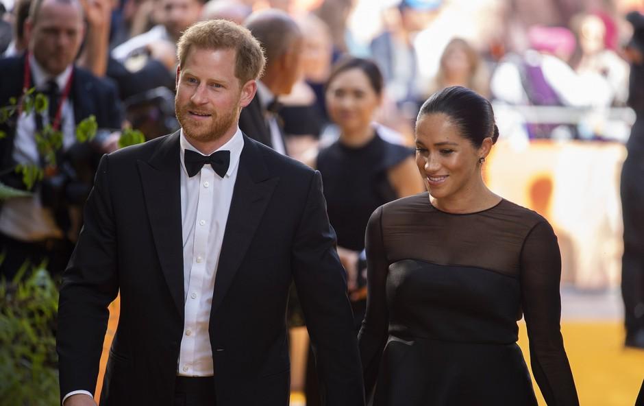 Meghan Markle in princ Harry objavila ljubko fotografijo s poroke, ki jo javnost do zdaj še ni videla (foto: Profimedia)