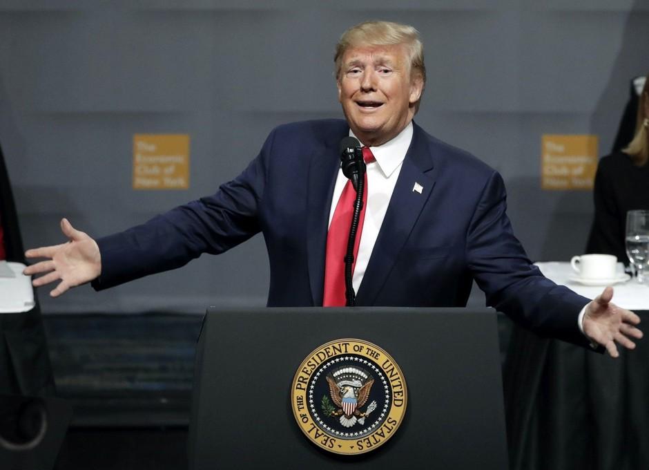 Šok! Donald Trump pokazal 'svoje' izklesano in še kako nabildano telo (foto: Profimedia)
