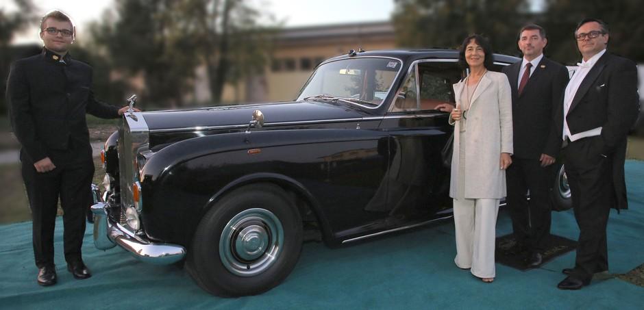 V Rolls-Royce samo z obleko Sens (foto: promocijski material)