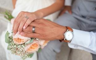V Sloveniji narašča število moških, ki po poroki prevzamejo ženin priimek