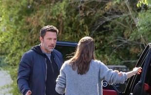 Ben Affleck in Jennifer Garner sta se sprla sredi ceste! Za kaj je šlo?