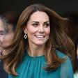 Zelena obleka Kate Middleton, ki je odlična izbira za praznični december