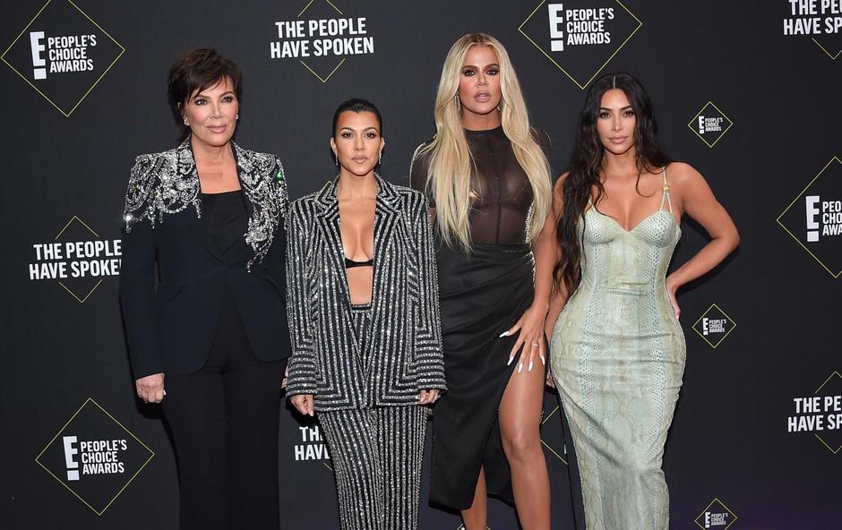 Kardashianovi ne morejo brez drame: Khloe in Kylie sta se spravili na Kourtney! (foto: Aff-Usa/Shutterstock Editorial/Profimedia)