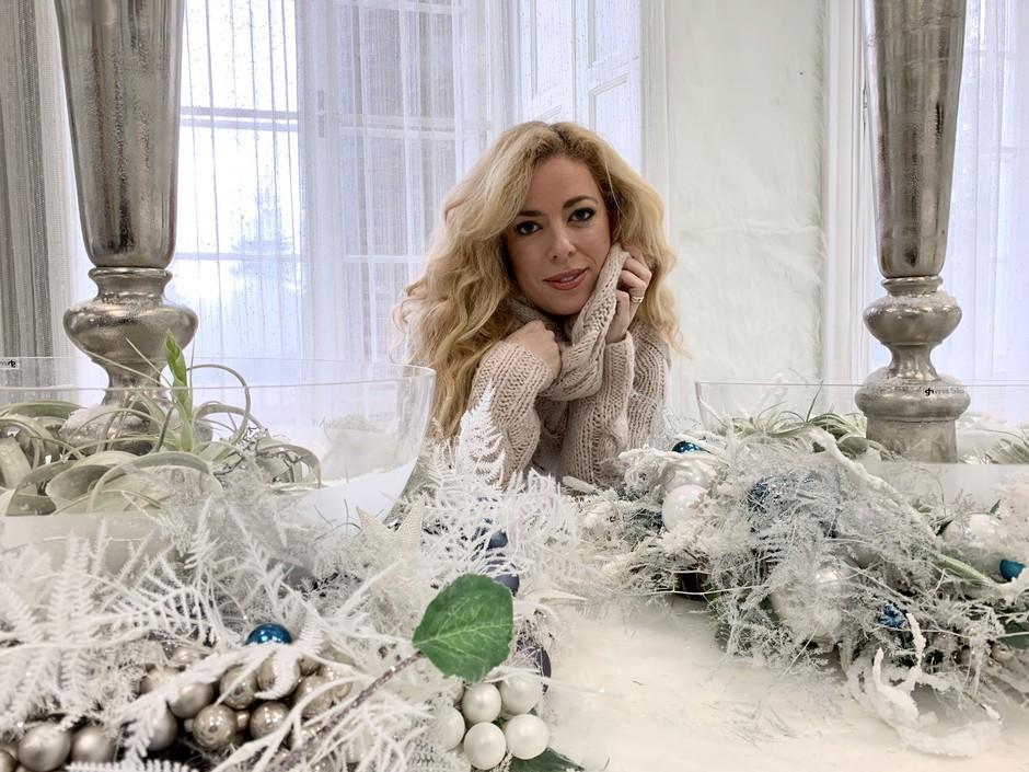 Kdo Ani Tavčar Pirkovič pripravi prav posebno božično večerjo? (foto: Jan Vasiljevič)