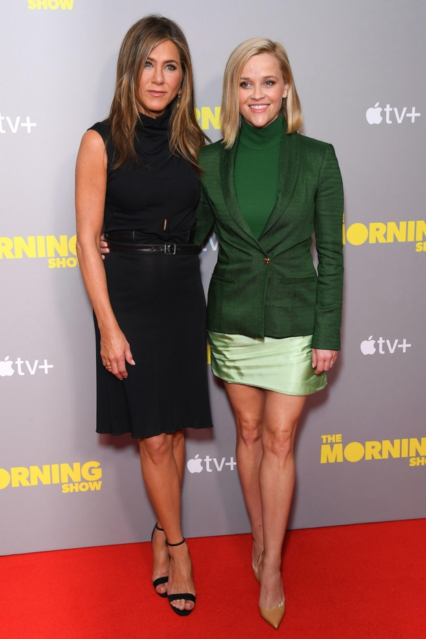 Jennifer Aniston in Reese Witherspoon v popolni formi. (foto: David Fisher/Shutterstock Editorial/Profimedia)