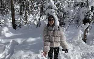 Monika Zorčič komaj čaka prvi sneg