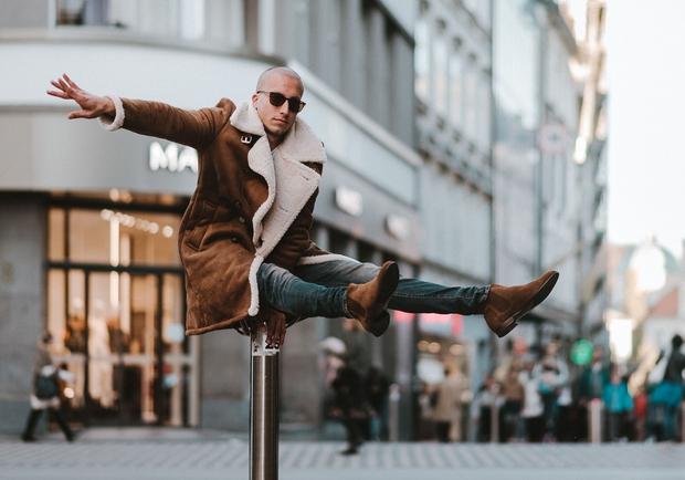 Vrhunski akrobat Filip Kržišnik za okraševanje nima potrpljenja (foto: Promo foto)