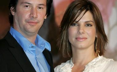 Keanu Reeves in Sandra Bullock sta zaigrala v filmu The Lake House. Svoje zveze nista nikoli potrdila.