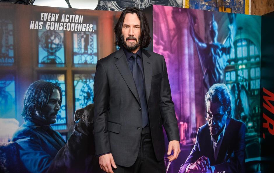 Keanu Reeves presenetil z drastično spremembo, zdaj je videti neverjetno mladostno, poglejte si ga (foto: Matt Crossick/Pa Images/Profimedia)