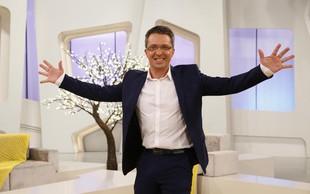 Televizijski voditelj Andrej Hofer zaradi snega končal v reki