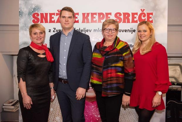 Dobrodelna akcija Snežne kepe sreče za lepše praznike (foto: Vid Rotar/Mediaspeed.net)