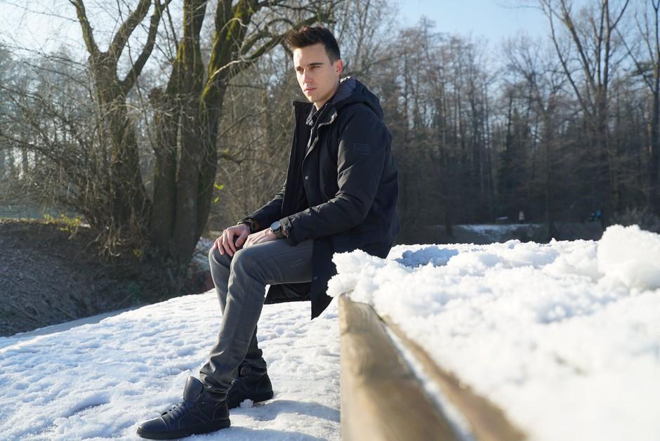 Nino Ošlak: Čeprav res obožujem poletje, mi je všeč tudi sneg (foto: Osebni album)
